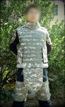 nivel iv kevlar armadura del cuerpo con dos placas de cerámica