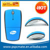 foldable arc wireless mouse 2014 promotion gift