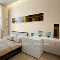 Texturas especiais comercial moderno pvc wallpaper/revestimento de parede