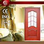simple design solid wooden door
