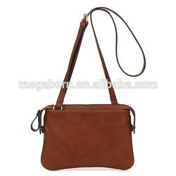 2014 Charming Leather Pebble Grain Pattern Shoulder Bag