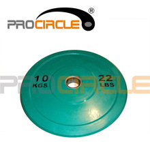 Crossfit Fym Power Training Olympic Rubber Bumper Plates
