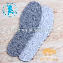 (BN021) Fashion warm embroidered inner wool felt soles
