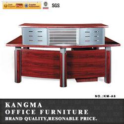 wooden cheap reception desk counter table A6#
