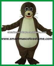 Sea lion traje de la mascota adultos lobo marino traje