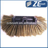Soft bristle car wash brush with long handle