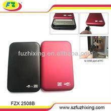 USB2.0 to 2.5 Hard Disk enclosure/HDD Case/HDD Caddy