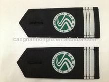 2012 new fashion aluminum military epaulet