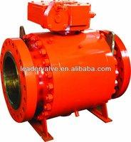High pressure Forged trunnion Ball valve