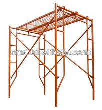 constrution walk platform Ghana frame scaffolding ( Real Factory in Guangzhou )