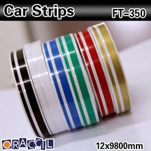 Fashionable car accessory car decorative stripes 12*9800mm