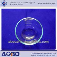 Crystal quartz evaporating dish/ Quartz products bowl
