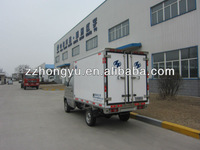 2 ton small freezer truck/van cargo truck for sale
