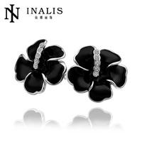 Wholesale Hot sale cute round plastic stud earrings