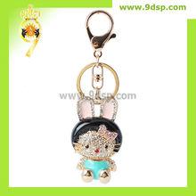 New Design Kitty with Rabbit ear Keychain