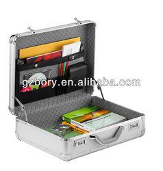 Business Portable Aluminum Briefcase laptop case suitcase