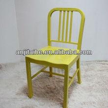 steel navy chair