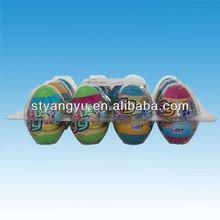 Dinossauro ovo brinquedo com doces