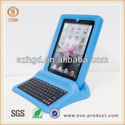 School friendly Drop proof 9.7 inch tablet keyboard case for kids