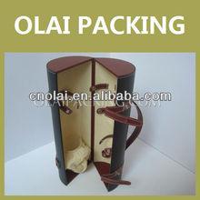 2013 China Leather Wine Craft Case, Spinning Ice Wine Craft