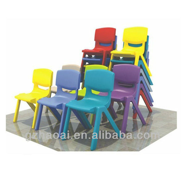HL-6401 Lovely Stable Plastic Kindergarten Table And Chairs