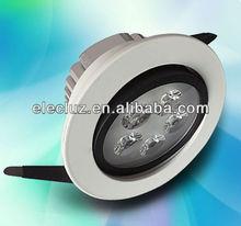 DLC303 5x1W 120degrees CRI82 led recessed light / LED DOWN LIGHT
