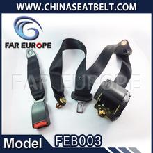 FEB003 3 point automotive automatically locking seat belt