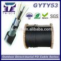Núcleo 96 50/125 gyty53 de fibra optica anti- de roedores de cable