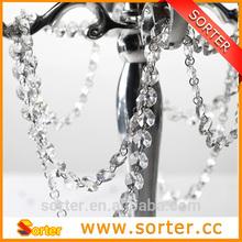 fashional wedding crystal bead curtain decoration