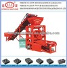 hydraulic mobile brick making machine,shandong Hongfa brick machinery,egg layer block machine