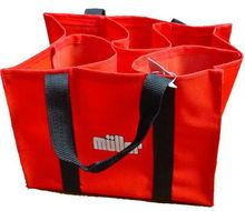 customer design non woven fabric bag for wine