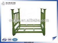 Removable steel post pallet