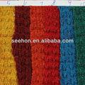 waffle tejer la costilla tela para el suéter