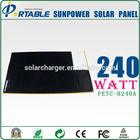 240W High Efficiency Sunpower Flexible Solar Panel used cars