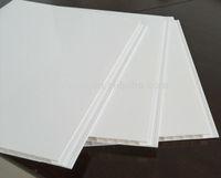 Roofing Material PVC Plain White Ceiling Tiles