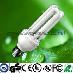 Tri color 3U CFL Energy Saving Light Bulb E27 30W