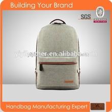 8023-2015 Latest wholesale backpack canvas satchel bag student backpack bag