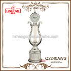 European classical living room polyresin floor clock Q2240AWS