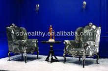Royal night club utilizzato divani/sofà mobili antichi in vendita/bar usato divano poltrona kj-b1025-2