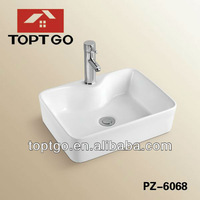 Cheap Wash Hand Ceramic Art Basin in India PZ-6068