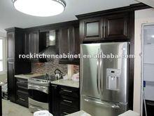 Dark Espresso Maplewood kitchen cabinet