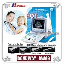 Ultrasound Diagnostic Imaging System(BW8S)-digital, hotkey,simplified operation, OB,GYN,USB, HP Laser printer,small part,biopsy