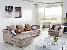 Fabric corner sofa with recliner /american style fabric sofa sets /2015 full leather fabric living room sofa set 8088