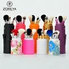 ZOREYA popular 7pcs cup holder makeup brushes