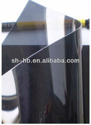 hot sale transparent pvc sheets black