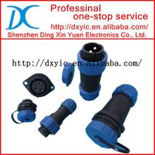 IP68 Circular Waterproof Connector Male Female 2 3 4 5 5B 5C 6 7 9 12 PIN SP13/SP17/SP21 Series