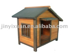 Factory Directly! Premium Waterproof A Frame Dog House/Asphalt Roofed Dog Kennel/Wooden Outdoor Dog Cage