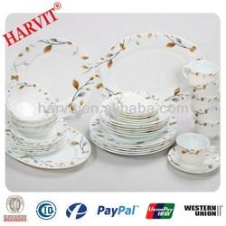 Cheap Dinner Sets China Manufacturer/Heat Resistant Opal Glass Dinner Sets/2014 Hot Selling 58PCS Opal Glassware Dinnerware Sets