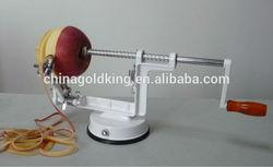 Multi-function Aluminum Alloy Apple Peeler Slicer & Corer -- Item NO. XHJ-110