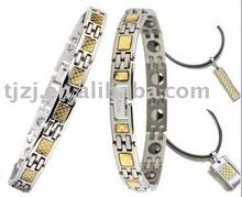Magnetic titanium bracelets (germanium added)